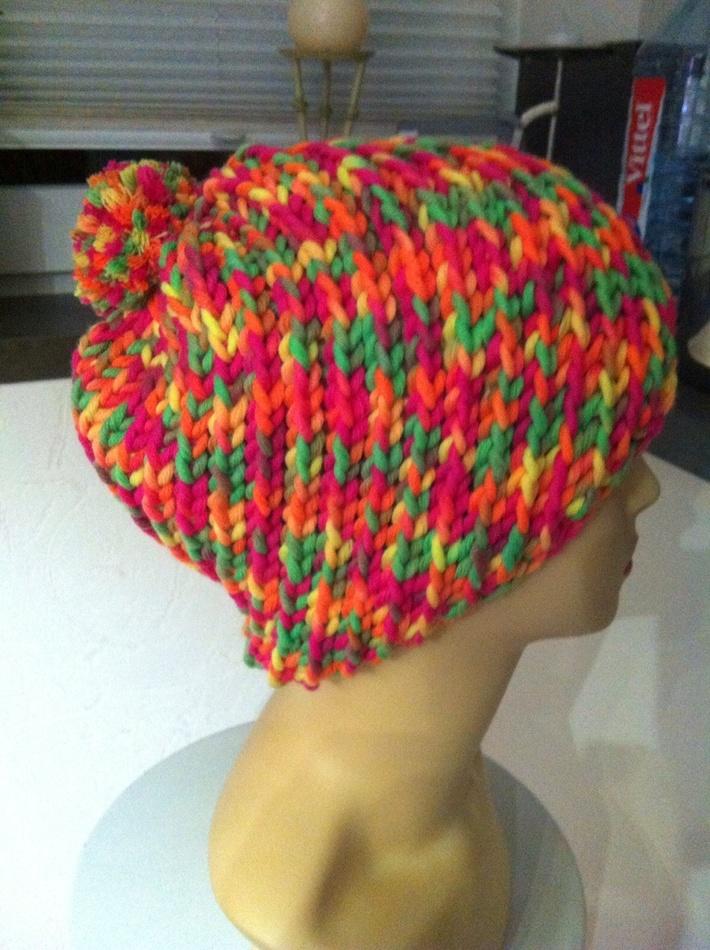 Mütze aus Wolle ON line Montego color