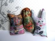 Primitive Art Dolls
