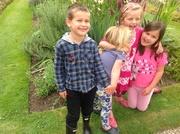 Young friends  enjoying Cotehele NT