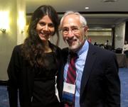 Laura Gagliardone and David Fetterman (AEA Conference 2013)