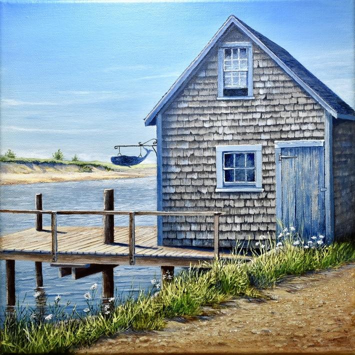 Fishing Shack, Marthas Vineyard
