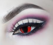 Red Anime Eyes