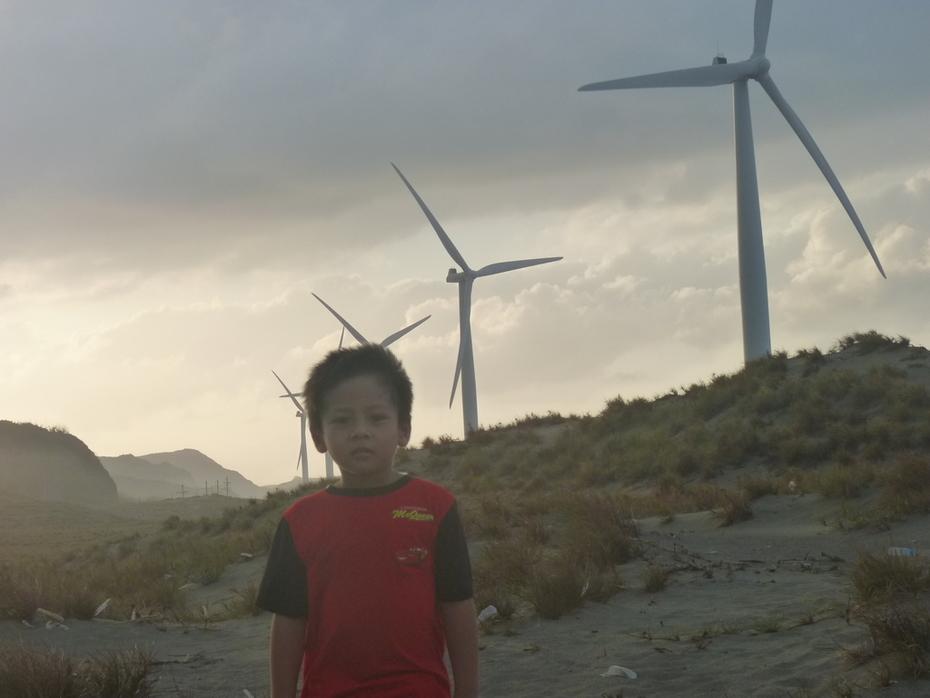 Visiting a Windmill
