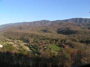 View from Webb Mtn/Deer Ridge Spring '09