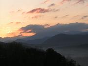 Another sunrise over Mt. Cammerer Spring '09