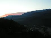 Sunrise over Mt. Cammerer Spring '09