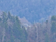 Newfound Gap memorail as seen from upper ACT