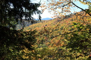 View from Grassy Branch Trail - Oct 2012