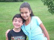 KELVIN AND MALIA, FIRST DAY OF SCHOOL, KELVIN 1ST, MALIA 3RD