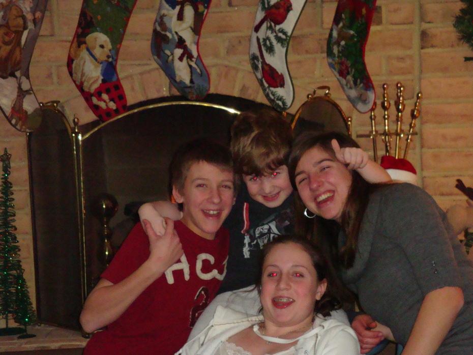 Snowfall &  Christmas 2009 006