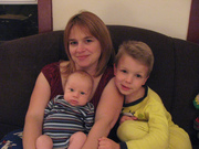 Gina with her boys