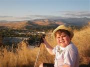 Cory on Mount Sentinel