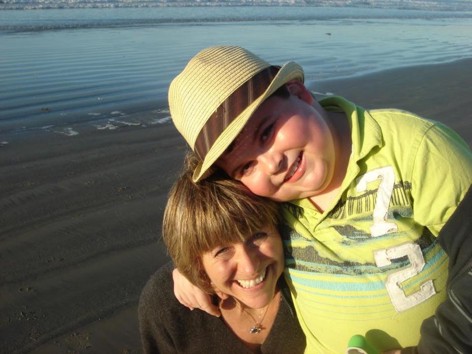 Cory and his amazing mom Christine.