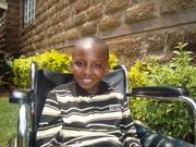 My lovely son Kamau