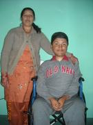 Yugeen with his Mom Ganga !