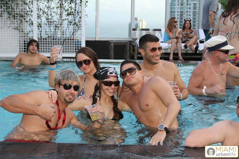 MUL Halloween Pool Party @ CLUB 50 - 10.31.10