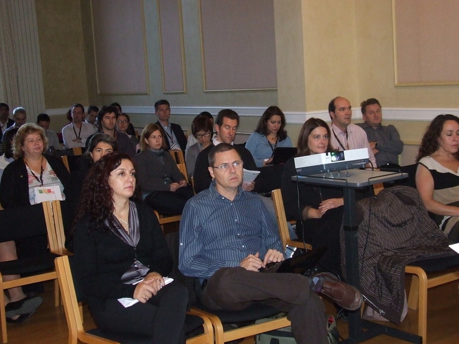 Audience at the plenary session about the Employment Toolkit