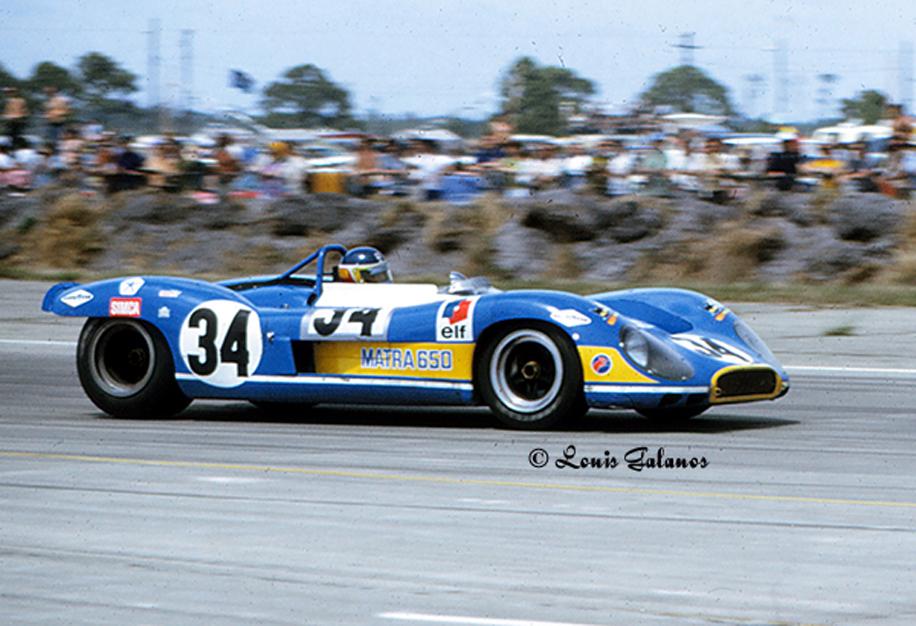 Matra MS650 at the 1970 Sebring 12 Hour Grand Prix