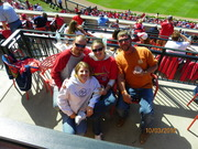 Cardinals, Coca Cola Patio.  All you can eat & drink. :)