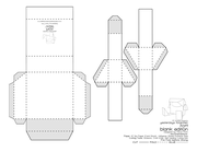 RCRT Blank Paper Toy