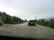 Flood In Covasna County August 2010