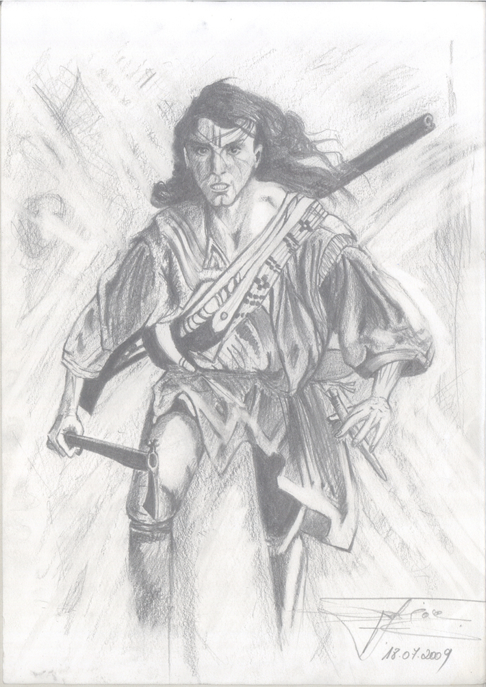 The last of the Mohicans : Daniel Day-Lewis