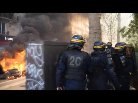 Massive Riots in Paris