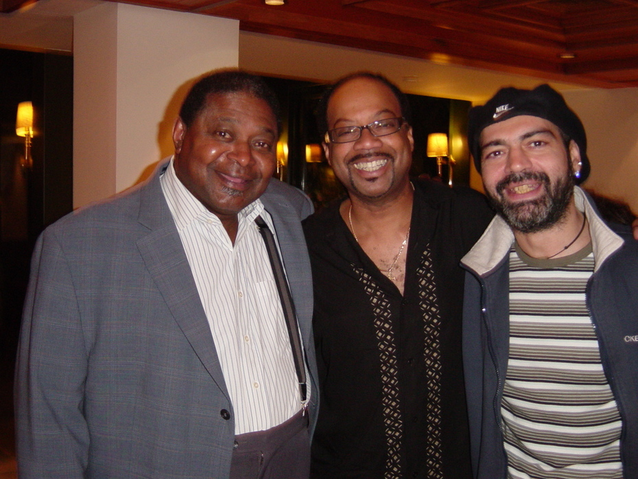 Pee Wee Ellis (JB Horns) & Fred Ross (Sly & Family Stones)