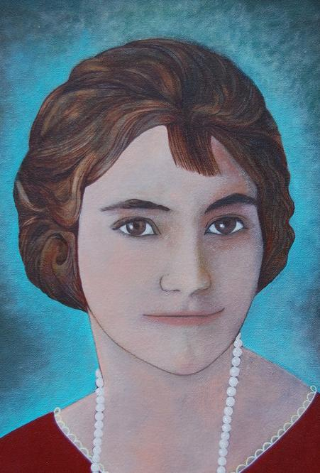 Oil, Memory Portrait