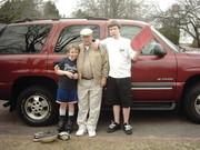 kids with grandpa 2005