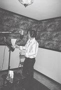 Mel Gibson (THE singer!) in the studio