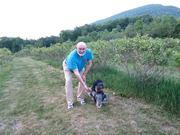Blueberry Farm with Baby Armani
