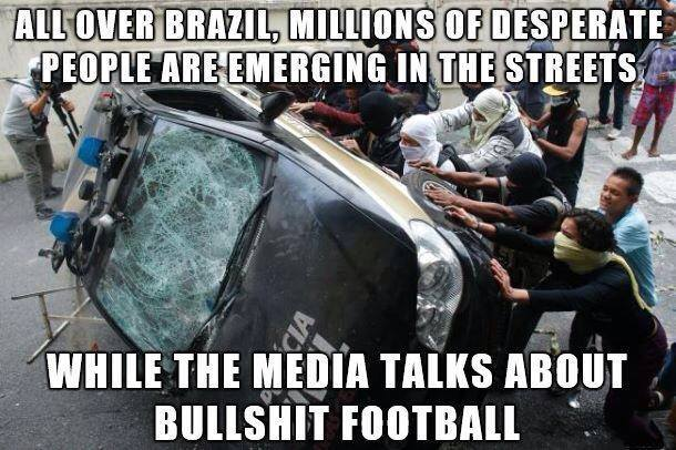 World Cup Protests