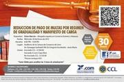 REDUCCION DE PAGO DE MULTAS POR REGIMEN DE GRADUALIDAD Y MANIFIESTO DE CARGA