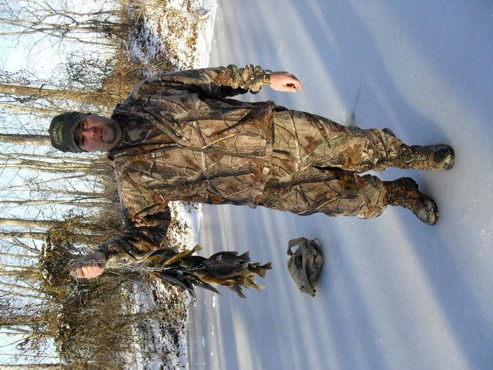 First Time Ice Fishing Jan 2011