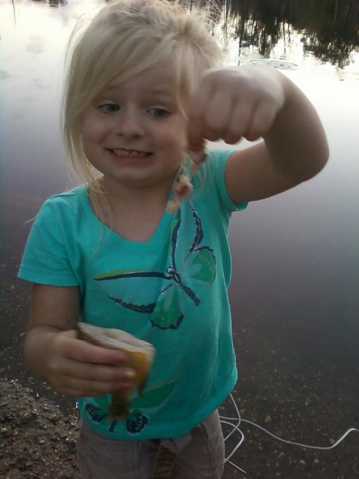 Bailey's 1st fish