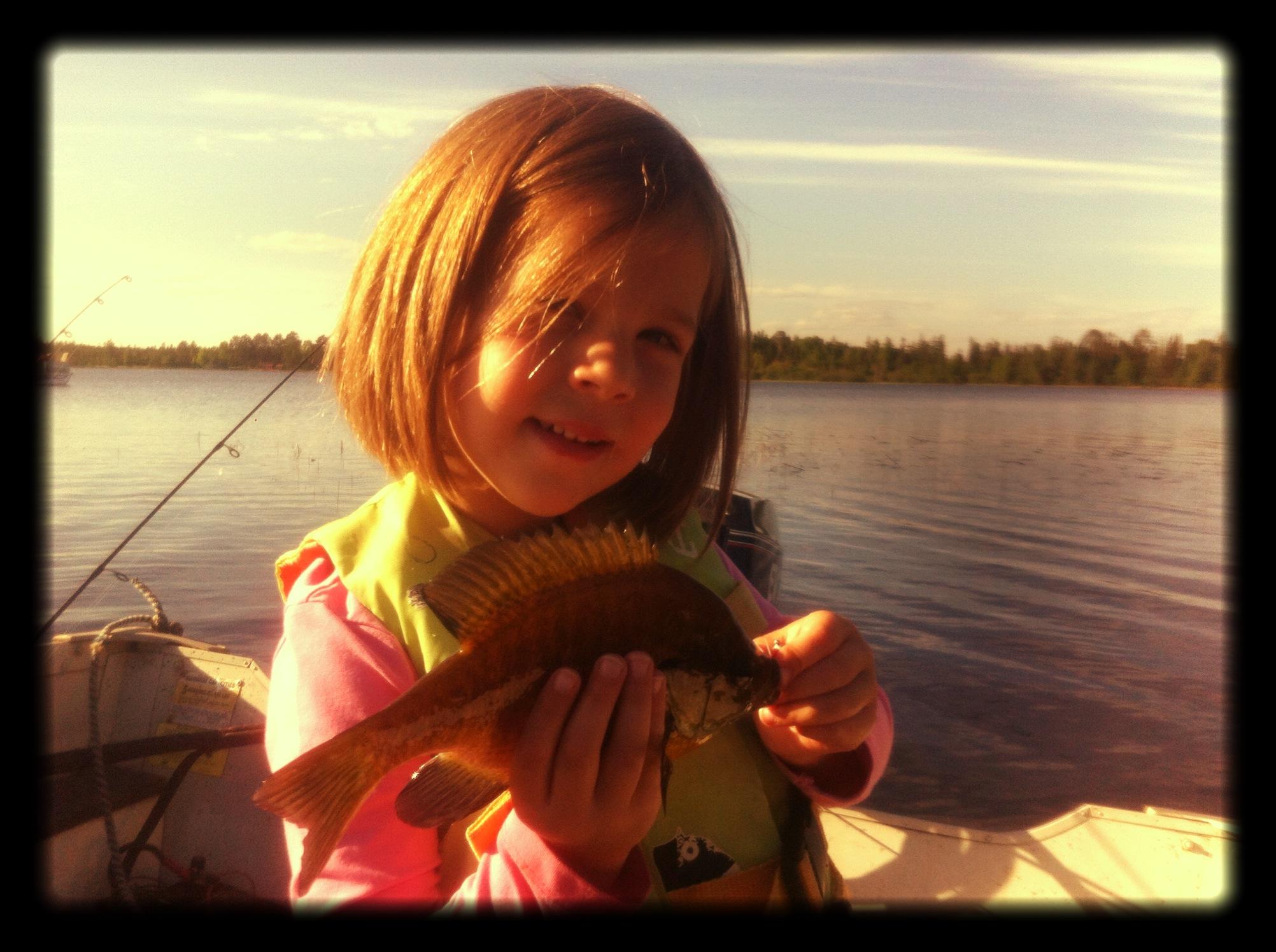"8"" Gill on new lake..."