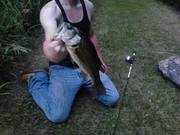 Small town pond bass