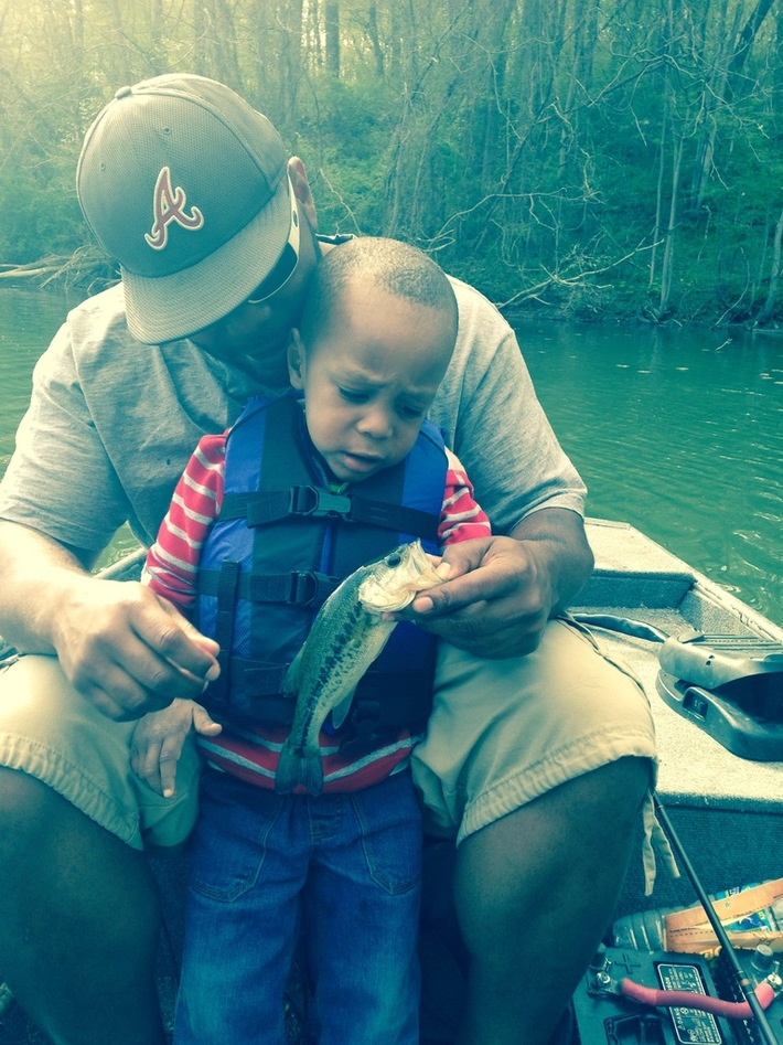 Judah's First Fish