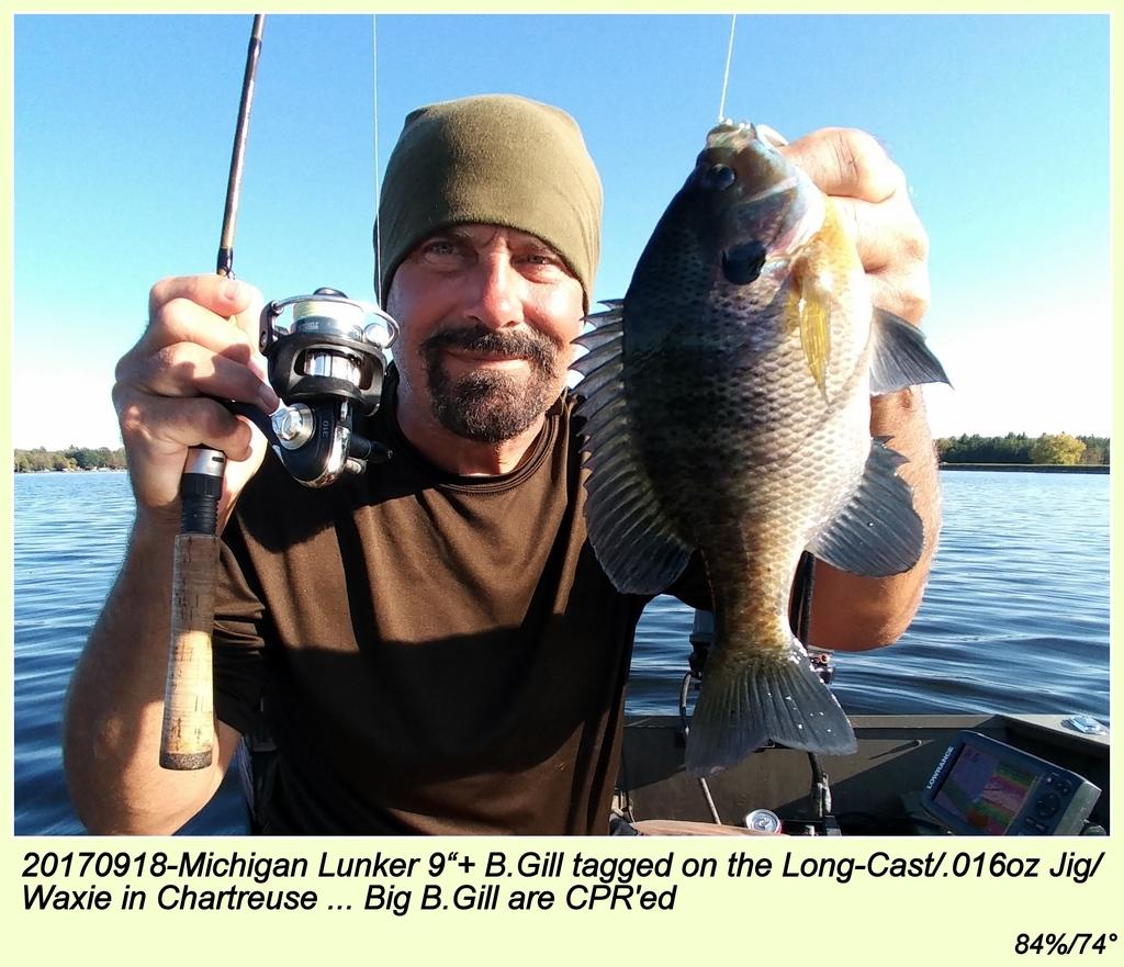 "20170918-Michigan Lunker 9""+ B.Gill"