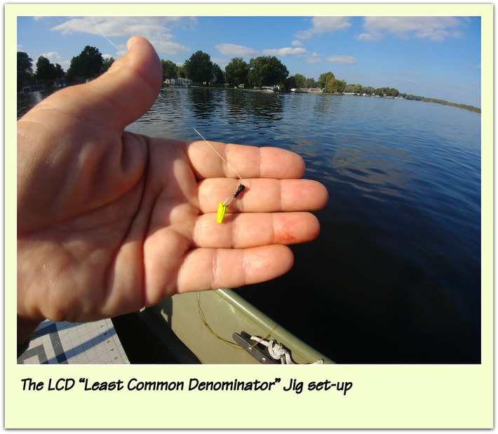 "The LCD ""Least Common Denominator"" Jig set-up"