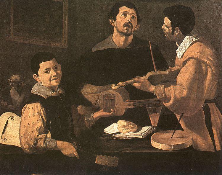 Velázquez: Three Musicians