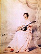 Possibly Georgina Gregory, Edinburgh c.1843, Pupil of Horetsky