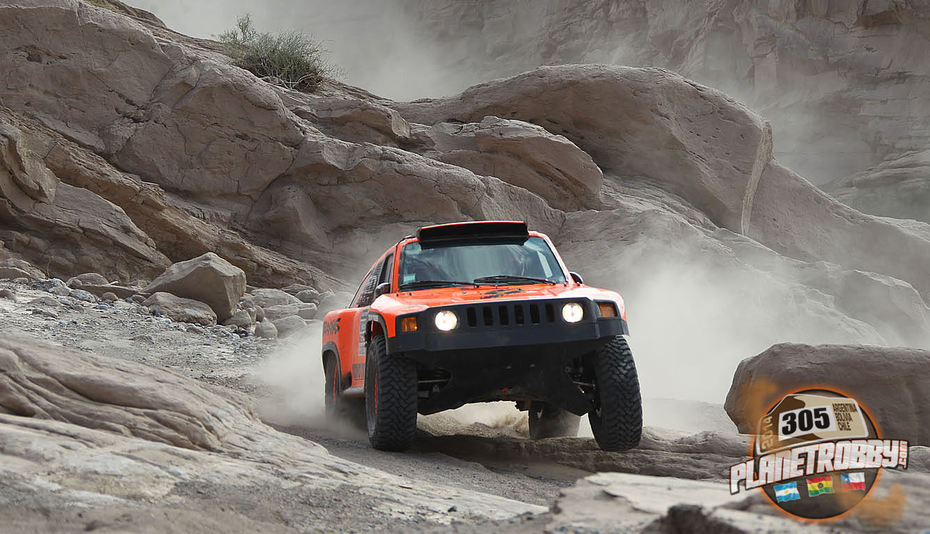 2014 Dakar Rally Stage 4