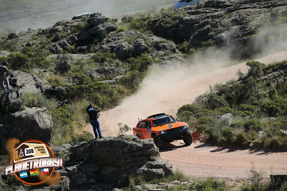2015 Dakar Rally Stage 2