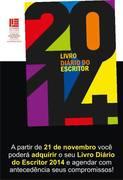 DIARIO DO ESCRITOR - AGENDA POÉTICA 2014 - ANTONIO CABRAL FILHO - RJ