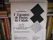 COLETÂNEA DO 1º ENCONTRO DE POETAS DA CIDADE DE NITERÓI - 1992