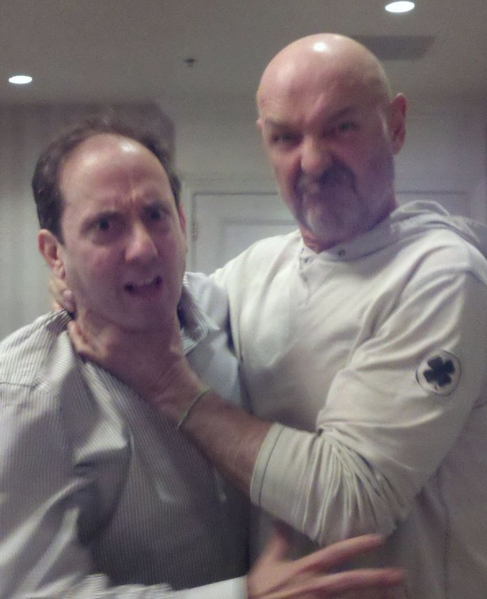 Me and Terry O'Quinn