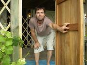 Christmas 2009 Matt in Gur Door with Walls
