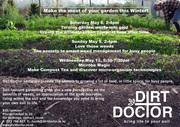 Wellington Dirt Doctor seminars!